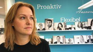 Porträttbild på Kajsa Hessel, vd för Projektgaranti.