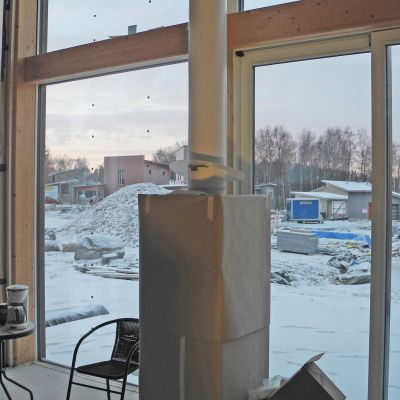 Asuntomessutalo Tammikuu.