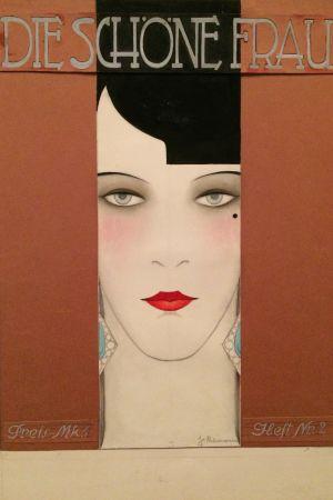Jeanne Mammen. Die schöne Frau (Den underbara kvinnan), ca 1926
