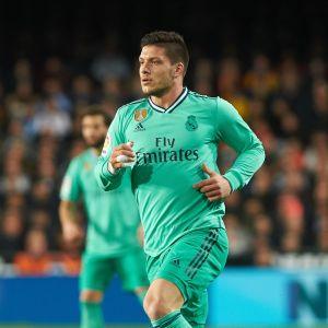 Luka Jovic flydde fältet i Madrid.