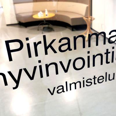 Pirkanmaan hyvinvointialueen toimisto Finmedi 5:ssa Tampereella