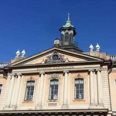 Börshuset i Stockholm där Svenska Akademien håller till.