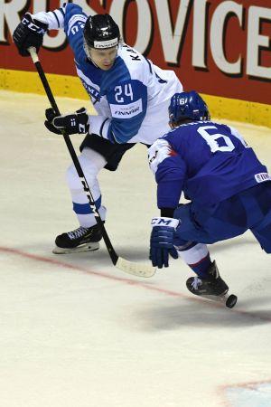 Kaapo Kakko spelar i VM 2019.