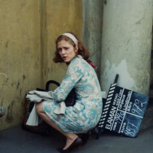 Susanna Haavisto ja Seela Sella Elämänmeno-tv-sarjan kuvauksissa Leningradissa 1970-luvulla.