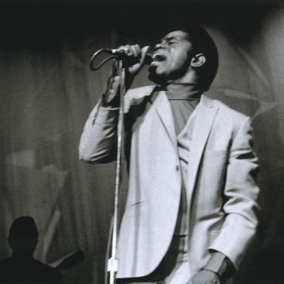 Kuva dokumenttielokuvasta Mr. Dynamite: The Rise of James Brown. Ohjaus Alex Gibney.