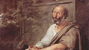 Francesco Hayez målning av Aristoteles från år 1811