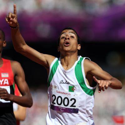 Abdellatif Baka under paralympics i London 2012.