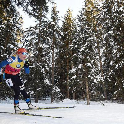 Kaisa Mäkäräinen, säsongen 2014-2015.