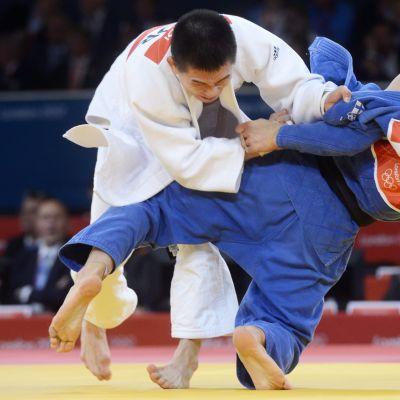 Valtteri Jokinen utslagen i judo.