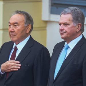Nursultan Nazarbajev har varma känslor gentemot Finland som han besökte första gången i sin ungdom år 1962