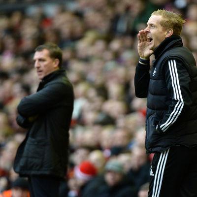 Swansea Citys tränare Garry monk