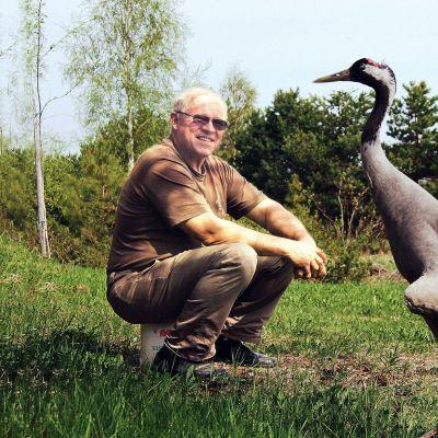Luontoaktivisti ja tutkija Jouko Alhainen on omistanut elämänsä kurjille.