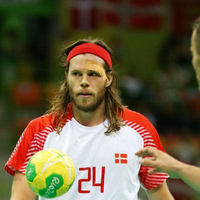 Mikkel Hansen stor OS-hjälte med sina åtta finalmål.