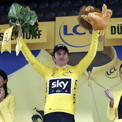 Geraint Thomas är en brittisk cyklist.