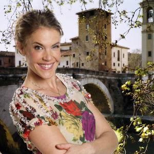 Ella Kanninen sarjassa Tie Roomaan