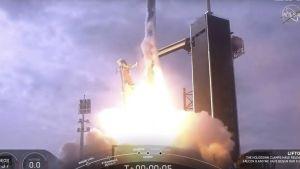 Raket avskjuts i testsyfte i Florida 19.1.2020
