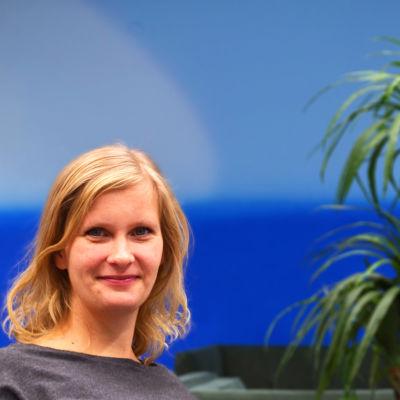 Patricia Berg är den andra att doktorera i egyptologi i Finland.