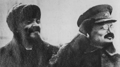 Lenin och Trotskij