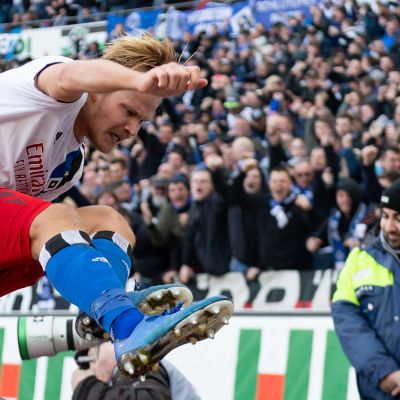 Joel Pohjanpalo pelasi HSV:n riveissä täydet minuutit ensi kertaa 3,5 vuoteen