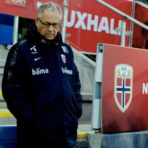 Lars Lagerbäck, chefstränare för Norges fotbollslandslag.