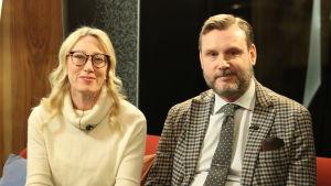 Sophia Jansson och Roleff Kråkström