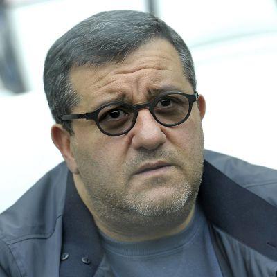 """Mino Raiola on yksi jalkapallon """"superagenteista""""."""