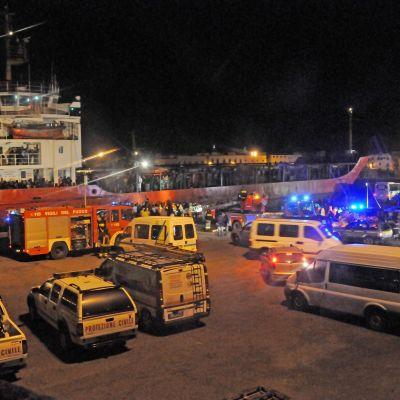 Migrantfartyg.