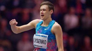 Danil Lysenko jublar.