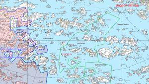 Karta över rundeln.