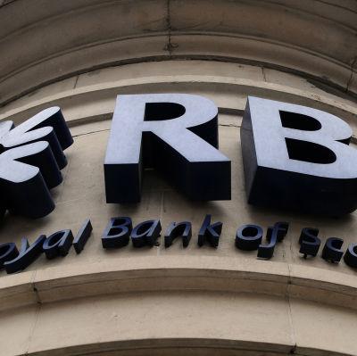 Royal Bank of Scotland i London.