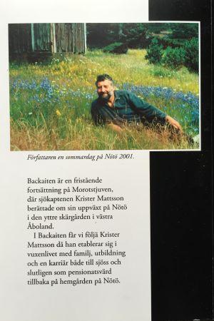 Krister Mattsson: Backaiten