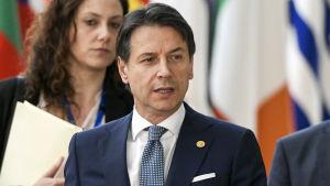 Italiens premiärminister Giuseppe Conte