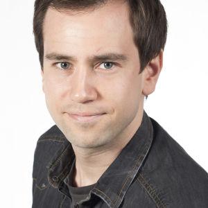 Yle Sportens stjärnreporter Janne Karinkanta 2014