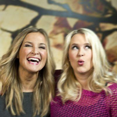 Anne Hietanen och Hannah Norrena