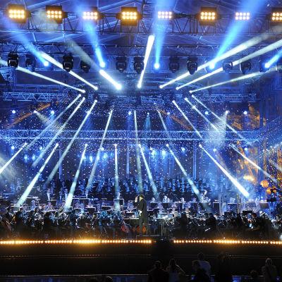 Ranskan kansallispäivän juhlakonsertti Pariisissa 2015