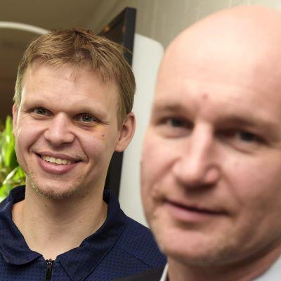 Teemu Rannikko och Jukka Toijala.