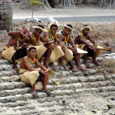 Kiribati hör till de önationer i Stilla havet som är värst utsatta inför klimatförändringen och stigande havsvattennivåer