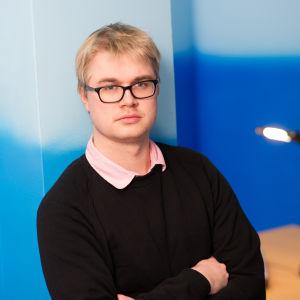 Redaktör Christoffer Gröhn.