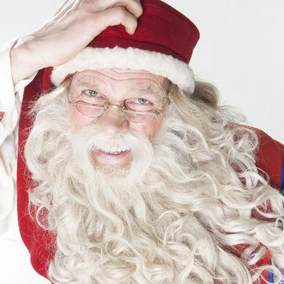 Joulupukki Auvo Vihron näyttelemänä