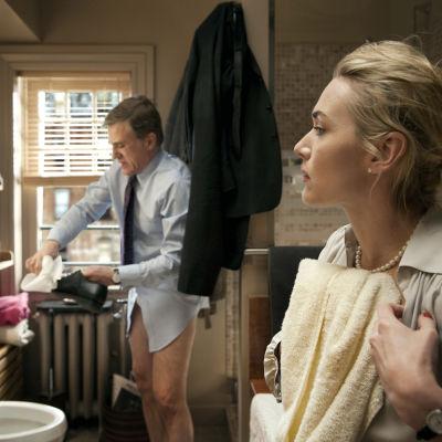 Alan Cowan (Christoph Waltz) ja Nancy Cowan (Kate Winslet)
