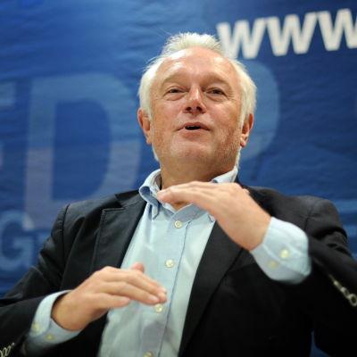 Den tyska FDP-veteranen Wolfgang Kubicki.
