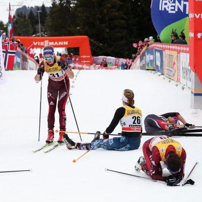 Utslagna åkare efter slutetappen på Tour de Ski.