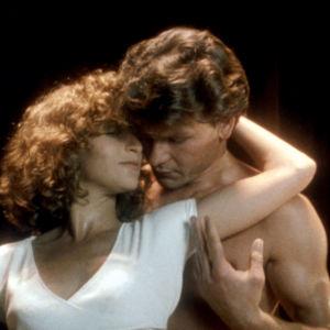 Jennifer Grey och Patrick Swayze i filmen Dirty Dancing 1987.