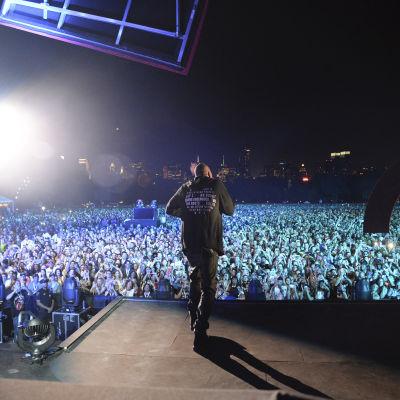 Kuva Global Citizen -konsertista 2015