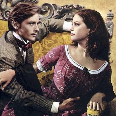 Alain Delon ja Claudia Cardinale elokuvassa Tiikerikissa