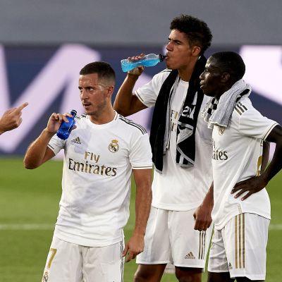 Kun Zinedine Zidane antaa neuvoja, niin silloin kuunnellaan tarkasti.