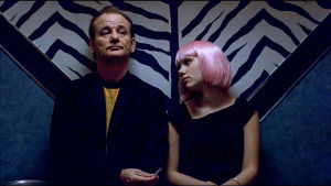 Bill Murray ja Scarlett Johansson. Kuva Sofia Coppolan elokuvasta Lost in Translation (2003).