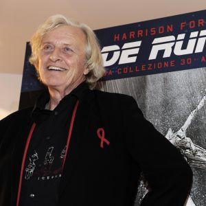 Skådespelaren Rutger Hauer.