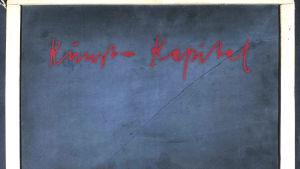 Kunst = Kapital, Josehp Beuys griffeltavla