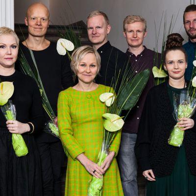 Teosto-palkintoehdokkaat 2018.